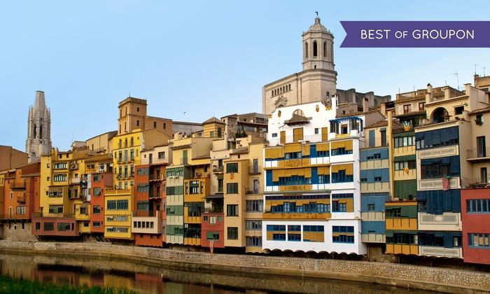 Girona - Girona City Tour: Girona: tour turístico panorámico por la ciudad de Girona con audio guía en 9 idiomas