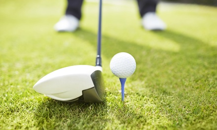 $56 for Greens Fees, Cart Rental, and Range Balls for Two at  Roy Kizer Golf Course ($112 Value)