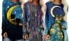 Women's Printed Long Sleeve Top