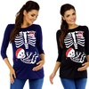 Baby Pirate Maternity Top