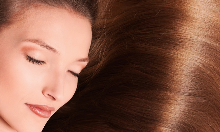 Numi & Company - Rye: Haircut with 1 or 3 Split-End Treatments, or 1 or 3 Keratin Treatments at Numi & Company (Up to 71% Off)
