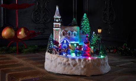 Escenario decorativo para salón con luces LED Konstsmide por 30,99 €