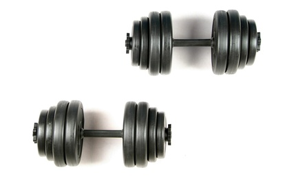 Physionics dumbbellset 30 kg