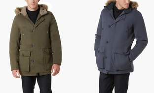 Kenneth Cole Mens Parka