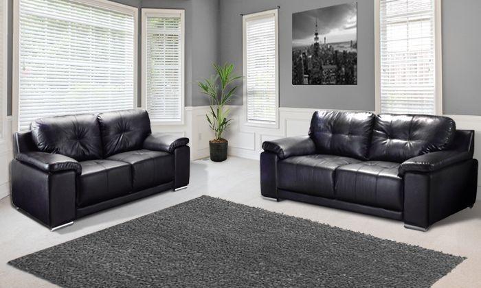 Enzo 3 2 Seat Sofa Groupon Goods