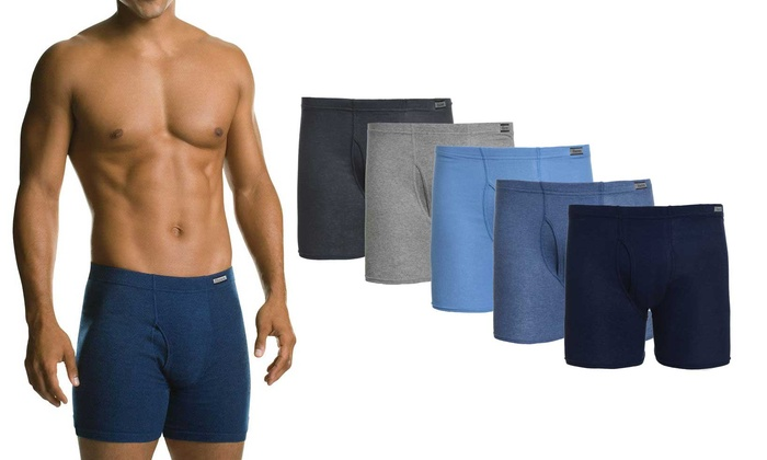 e97e190f98734 Hanes Men s Comfortsoft Tagless Boxer Briefs (6 Pack)