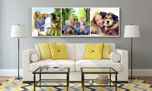CanvasJet.com: Panorama Collage Canvas Print in Choice of Size from CanvasJet.com