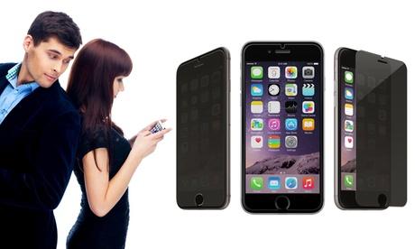 Filtro protector de cristal templado para iPhone 4/4S, 5/5S, 6/6S y 6+/6S+ Oferta en Groupon