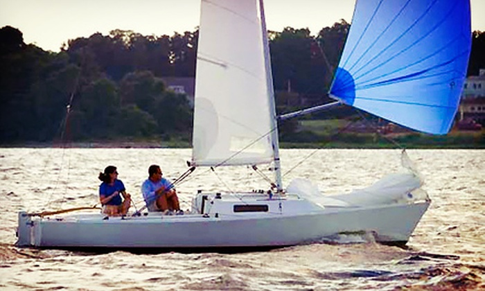 Victoria Sailing School - Multiple Locations: Three-Hour Basic Sailing Lesson for One or Two from Victoria Sailing School (Half Off)