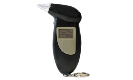 Digital Alcohol Breathalyser: One $17.95 or Two $27.95 Don't Pay up to $98