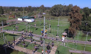 Parque Aéreo de Aventura - Euca Tigre: Pase al parque + diferentes niveles para 1, 2 o 4 personas con Parque Aéreo de Aventura o Euca Tigre y Bariloche
