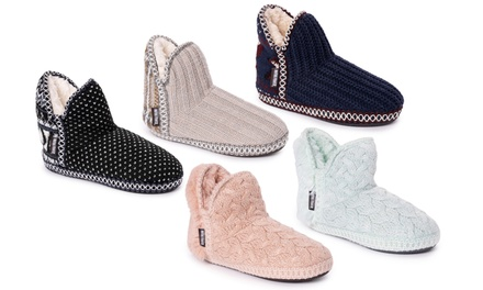 Muk Luks Women's Adriana Slippers (up to size 11-12) - Groupon Exclusive Was: $40.00 Now: $11.99