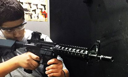 Airsoft Target Shooting with 300 Shots Each for One or Two at Sharjah Paintball Park (Up to 51% Off)