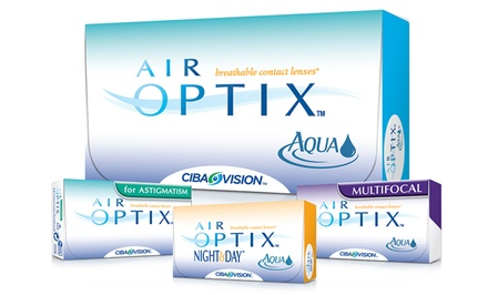 6-Month Supply of Air Optix Contact Lenses from PostalContacts.com