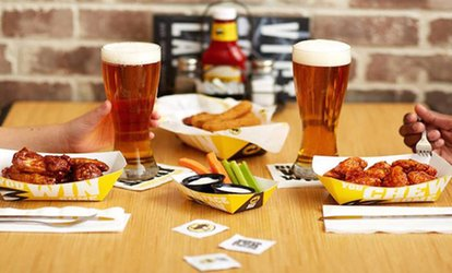 Food and Drink for Two or Four at Buffalo Wild Wings - Naples/Bonita Springs (Up to 40% Off)