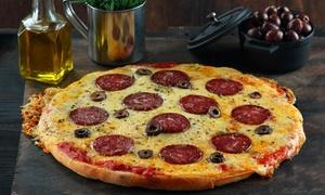 Questa Pizza: Desde $159 por pizza a elección + bebida para dos o cuatro en Questa Pizza