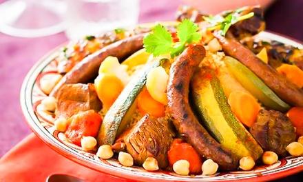 Buffet marocain à volonté pour 1 à 4 personnes dès 17,99 € au restaurant Le Maroc Gourmand