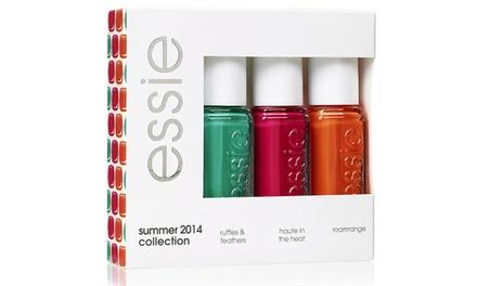 Three, Six or Nine Essie Summer Mini Nail Polish Varnishes