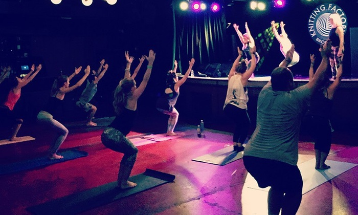 Soulga - Greenpoint: $35 for $55 Worth of Services — Soulga Yoga + Beats + Brunch