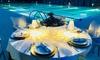 Pranzo o cena a bordo piscina
