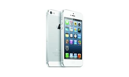 Refurbished Iphone 5 32 GB in het zwart of wit voor € 199