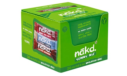 Nakd Yummy Mix 24 or 48 Bars in Three Flavours