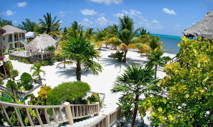 Exotic Caye Beach Resort - Exotic Caye Beach Resort: 4-, 5-, or 7-Night Stay for Two with Airport Transfers and Welcome Drinks at Exotic Caye Beach Resort in Belize