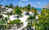 Beachfront Island Resort in Belize