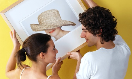 Custom Framing at Art & Framing Outlet (83% Off). Two Options Available.