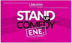 La Buena Ventura: Entrada a noche de comedia para 2 personas con bebida por 9,95 € en La Buena Ventura