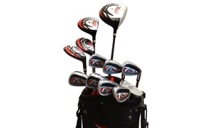 Zevo Z450 Men's Complete Golf Package Set with Bag (17-Piece) at Zevo Z450 Men's Complete Golf Package Set with Bag (17-Piece), plus 6.0% Cash Back from Ebates.