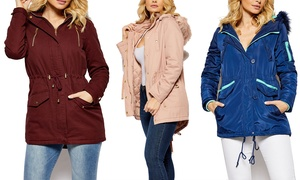 60e0e2eb9cbb7 Out and About Women s Parka Jacket in Multiple Styles