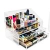 Sorbus Acrylic Cosmetics Organizer Case