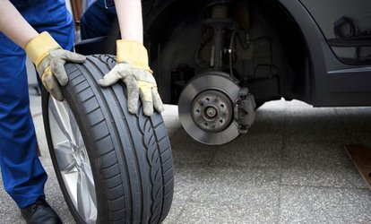 image for 4-Wheel Alignment, Tire Rotation, and Signature Service Oil Change at Jiffy Lube Albany (Up to 42% Off)