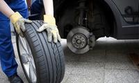 Pkw-Rad- oder Reifenwechsel inkl. Auswuchten oder Frühjahrscheck in der KS Meisterwerkstatt (bis zu 64% sparen*)