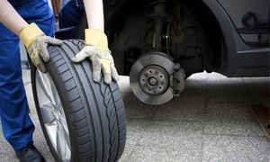 Ap Autoservices: Value Range Tyre in a Choice of Five Sizes with Fitting by Ap Autoservices