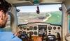 Vliegen in een simulator