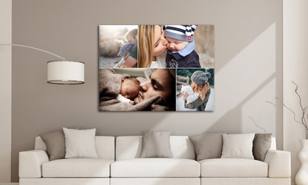 A2 Large Collage Canvas Print for £9.95