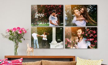 Up to 92% Off Personalized Metal Photo Prints from Printerpix