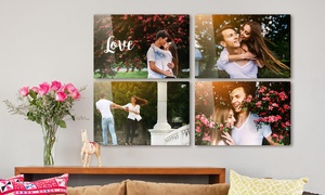 Up to 93% Off Personalized Metal Photo Prints from Printerpix