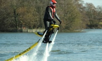 Christmas Gift Voucher for Waterbiking Experience, One or Two people with Flyboard Fun, Three Locations (Up to 37% Off)