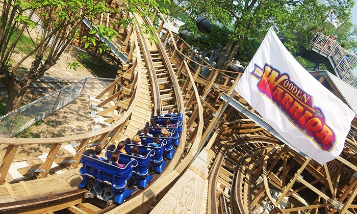Quassy Amusement & Waterpark - Quassy Amusement Park: Amusement Park Outing for Two or Four with Souvenir Cups at Quassy Amusement & Waterpark (Up to 38% Off)