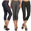 Women's Capri and Full-Length Jeggings (3-Pack). Plus Sizes Available.