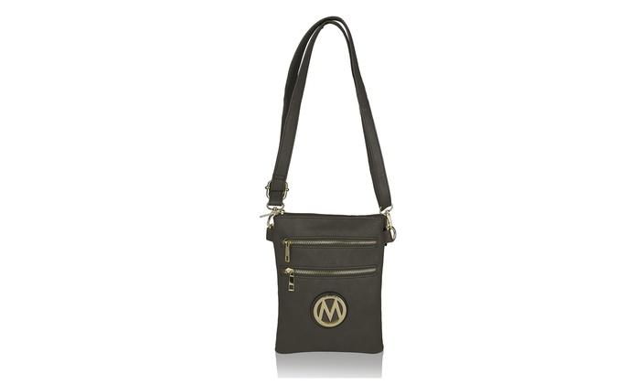 MKF Collection Arabelle Crossbody Shoulder Handbag