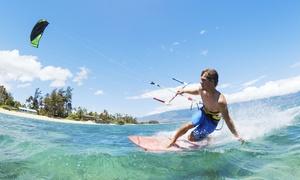 Kiteschule Ostsee: Kitesurfing-Schnupperkurs oder Einzelunterricht für ein oder zwei Personen in der Kiteschule Ostsee (bis zu 20% sparen*)