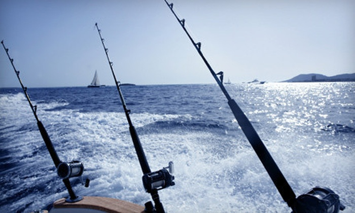 Outta Control Sport Fishing - Barrier Island: Day or Night Deep-Sea-Fishing Trip from Outta Control Sport Fishing (Up to 52% Off)