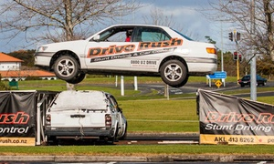 Drive Rush: Introductory Stunt Driving Experience for One ($99) or Two People ($198) at Drive Rush (Up to $400 Value)