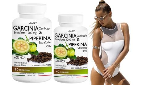 Hasta 720 comprimidos de Garcinia y Piperina Extra Forte
