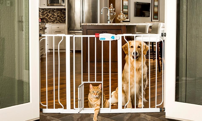 Extra Wide Walk Through Pet Gate ...