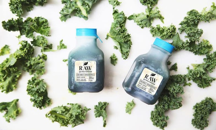 Raw Generation: Four-Week Skinny Smoothie Cleanse from Raw Generation (Half Off)